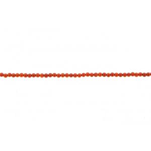 Carnelian Round  Beads, 2 mm
