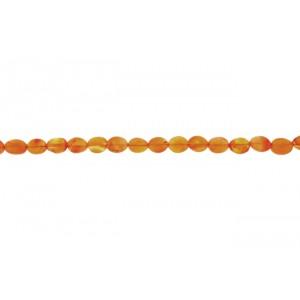 Carnelian Oval Beads                                     Carnelian Beads