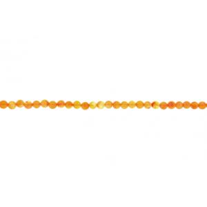 Carnelian Round Beads, 6 mm