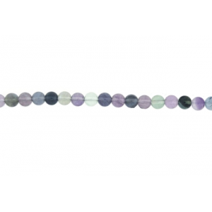 Fluorite Round Beads, 8 mm