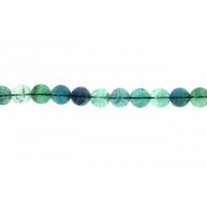 Fluorite Round  Beads, 16 mm