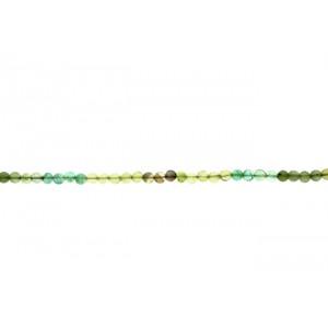 Fluorite Round  Beads, 4 - 6 mm