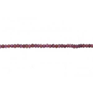 Garnet Faceted Beads, Special Cut Garnet Beads