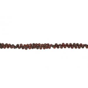 Garnet Badamche / Drops Faceted Choker Beads