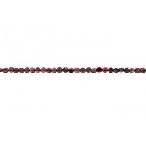 Garnet Coin Beads