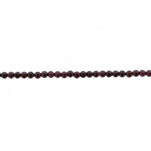 Garnet Round Beads, 4 mm                         Garnet Beads