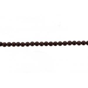 Garnet Round Beads, 9 mm