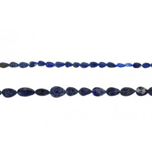 Lapis Pear Shape Long Drilled Beads