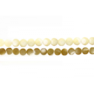 MOP Round Beads Mother of Pearl Beads (MOP)
