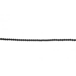 Onyx Black Round Beads 6mm