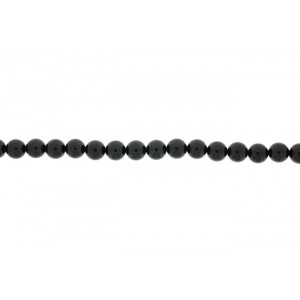 Onyx Black Round  Beads, 10 mm