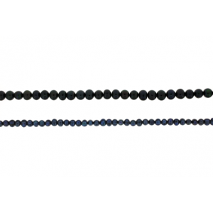 Pearl 5 mm String Grey, Black, Yellow, Steel