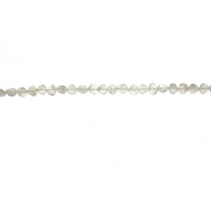 Rainbow Moonstone Heart Shape Beads