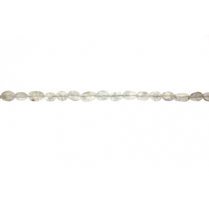 Rainbow Moonstone Oval Beads
