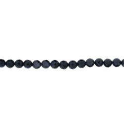 Sandstone Blue Faceted Beads, 10 mm