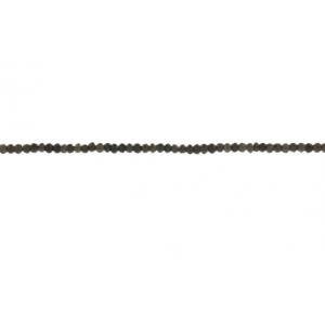 Smoky Quartz Faceted Beads, 5 mm
