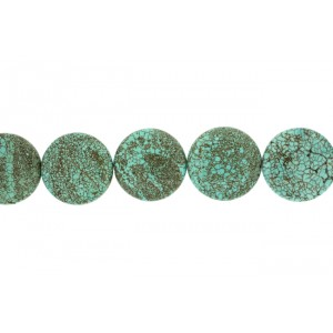 Turquoise Round Cab Beads 26mm