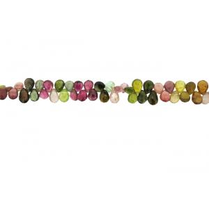 Tourmaline Badamche / Drops / Briolette Choker Beads