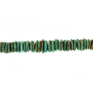 Turquoise Big Tyre Beads