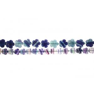 Fluorite Flower Beads