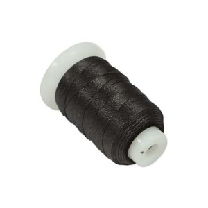 SILK SPOOL BLACK SIZE F (0.35MM) 140 YD