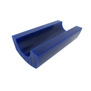 MATT Wax Bracelet Blank 6'' Blue