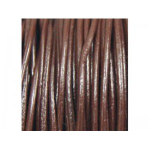 Leather Thong 1.6mm Chocolate Brown