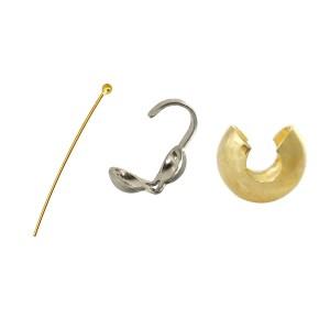 Head Pins, Crimps, Crimp Covers, Wire Protectors etc