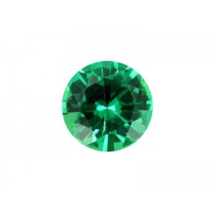Emerald Cut Stone, Round, 3 mm Emerald Gemstones