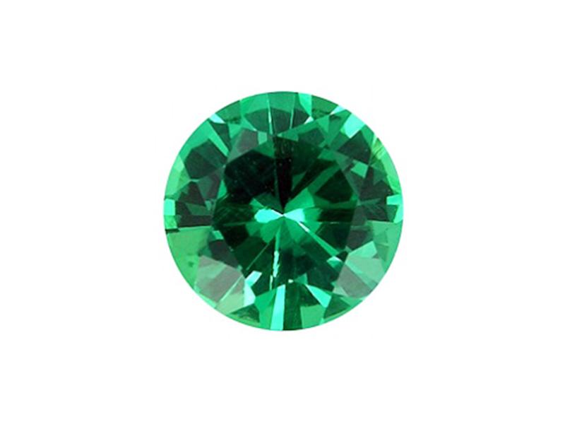 Emerald Cut Stone, Round, 3 mm