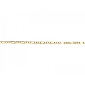 14K Gold Filled Figaro Chain, 0.6mm, 0.3mm wire Gold Filled Figaro Chain