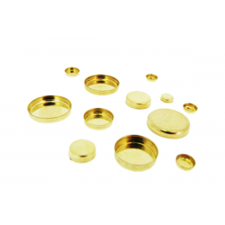 Gold Filled Round Bezel Cup 6mm