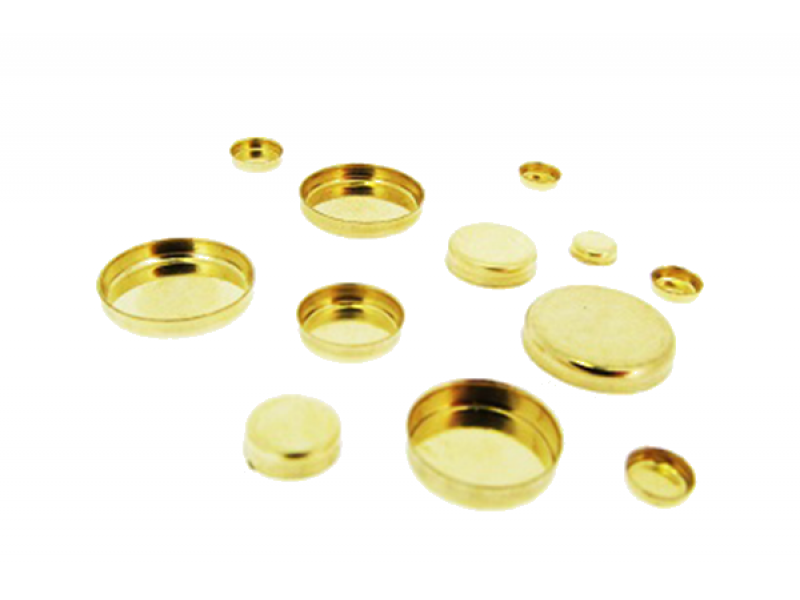 Gold Filled Round Bezel Cup 5mm GOLD FILLED & GOLD PLATED BEZEL CUPS AND SETTINGS