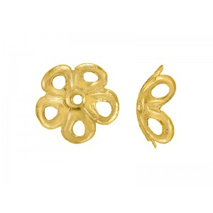 Gold Filled Filigree Bead Cap 8mm