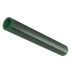 MATT Green Wax Ring Tube Round with off centre hole