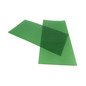 Wax Sheet 0.3mm 75mm x 150mm Green, SOFT