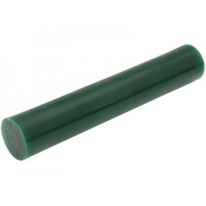 MATT Green Wax Ring Tube Round Solid