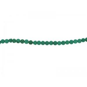 Blue Howlite 6mm Round Beads