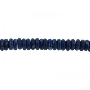 Lapis Lazuli 4x8mm  Bati Beads