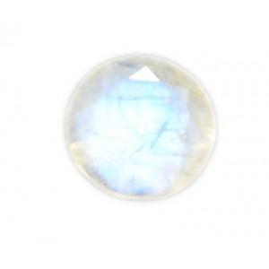 Rainbow Moonstone Cut Stone Round, 3 mm