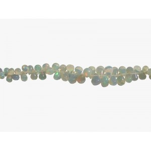Opal Ethiopian Teardrop Beads