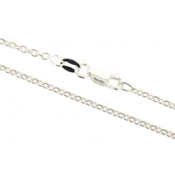 Ready Made Sterling Silver 925 Trace Chain, 18'', 1.6 mm