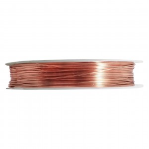Artistic Wire Rose Gold Silver Plated