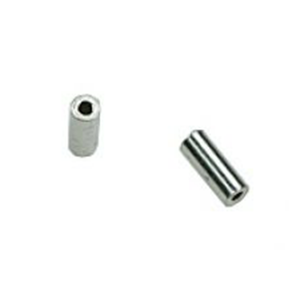 Sterling Silver 925 Round Cut Tube Outside D 1.5mm, wall 0.3mm, length 12mm
