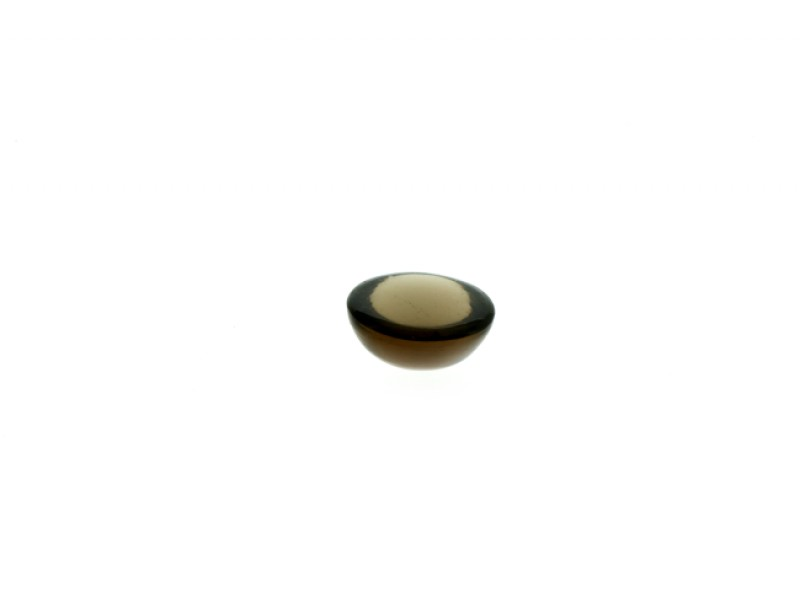 Smoky Quartz Cabs, Round, 8 mm Smoky Quartz Gemstones