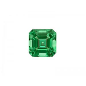 Emerald Cut Stone Square 2 mm