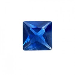 Sapphire Cut Stone, Square, 2 mm