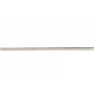 Sterling Silver 925 8 sided Square Snake Chain, 1.5 mm Snake