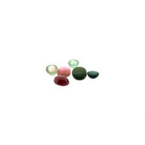 Tourmaline Cabs, Oval, 3 x 4 mm