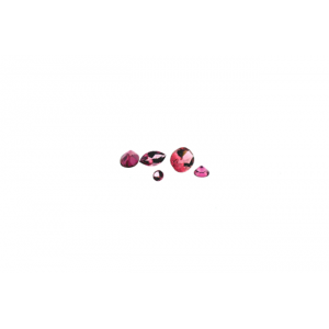 Tourmaline Cut Stone Round Pink 2mm